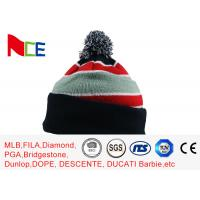 Buy cheap Eco Friendly Warm Knit Beanie Hats For Adults Design Your Own Logo Available from wholesalers
