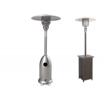 Buy cheap Outdoor Silver Flexible Propane Gas Electric outdoor mushroom patio heater from wholesalers