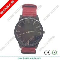 Buy cheap Super Slim Style Wrist Watches Fabric Strap from wholesalers