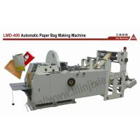 LMD-400 Automatic Speed Sharp Paper Bag Making Machine Manufactures