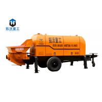 Buy cheap HBT6016 Trailer Mounted Electric Concrete Pump Compact Structure Small Wheel Design product
