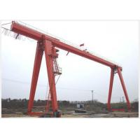 Buy cheap Movable 10 Ton Gantry Crane With Electric Hoist Single Girder Cabin Pendant Remote Control from wholesalers