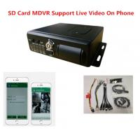 Buy cheap Four Channels H.264 SD Card Mobile DVR With 4G Wifi G - Sensor GPS from wholesalers