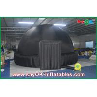 Buy cheap Digital Giant Inflatable Planetarium 5M Tent Black  Dome Starry Sky For School Education from wholesalers