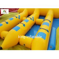 China Hot Inflatable Fly Fishing Boats With Motor / Funny Pontoon Boats For Fly Fishing on sale