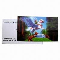 Buy cheap 3D Lenticular Card, Wonderful Designs, More Fresh and Clear Colors from wholesalers