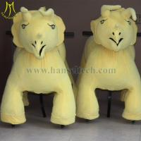 Wholesale Hansel plush electronic kid riding horse toy shopping mall from china suppliers
