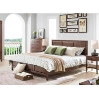 Buy cheap Oak Dark Wood Bedroom Furniture Classical Style , Home Solid Wood Queen Bedroom Set from wholesalers