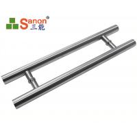 Buy cheap ASTM Stainless Steel Pull Handle Tempered Glass Door Handle 304 Material from wholesalers