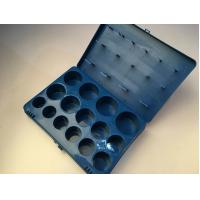 Wholesale Metric Size Seals Rubber O Ring Kit Blue Color With Compression Set Resistance from china suppliers