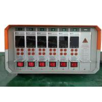 Wholesale 6Zone high accuracy hot runner controller manufacturer |MD18 hot runner controllers with cable, Orange Color from china suppliers