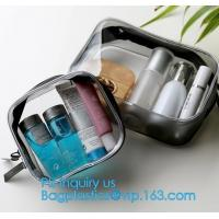 Buy cheap PVC Cosmetic Bag Makeup Brushes Bag Travel Wash Bag, Wash Cosmetic Bags Makeup Organizer Case MINI Hand from wholesalers
