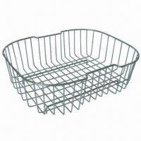 Buy cheap Stainless Steel Basket for Kitchen Sink, with Electro-polished, RoHS-marked and Rust-resistant from wholesalers
