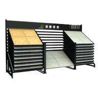Buy cheap Metal Ceramic Tile Sample Board Display Rack With Square Tube from wholesalers