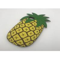 Buy cheap 3D Cartoon Fruit Summer Pineapple Phone Case For IPhone 8 Soft Silicone Cover from wholesalers