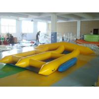 Buy cheap 2 Person Inflatable Toy Boat , PVC Tarpaulin Inflatable Water Flyfish from wholesalers