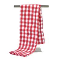 80% Polyester and 20% Polyamide Yarn Dyed Kitchen Tea Towel Home Dish Cloth with Checker Pattern Manufactures