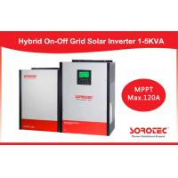 Buy cheap On / off Grid Hybrid Solar Inverter , 2kva MPPT most efficient power inverter 24v from wholesalers