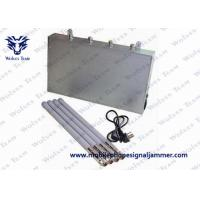 Buy cheap Effective Mobile Phone Blocker Jammer , 3G 4G Signal Jammer Working Time >50000h from wholesalers