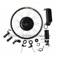 Buy cheap Bicycle 48V 350W Rear Hub Motor Electric Bike Conversion Kits 32Km / H from wholesalers