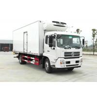 Buy cheap 10 Ton Donfeng Refrigerated Delivery Truck , Refrigerator Box Truck With Thermo King Refrigerator from wholesalers
