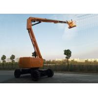 Buy cheap Articulated Boom Upright Mobile Elevating Work Platform Diesel Powered 18.1M Maximum Horizontal Reach from wholesalers