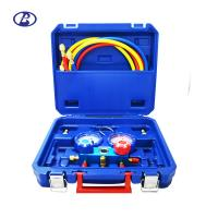 Buy cheap Air Conditioner Manifold Gauge Set R410A R407C R22 R404A With Brass Adapter from wholesalers