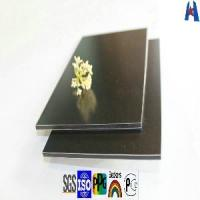 Buy cheap Transparent Coffee High Gloss PE Coating Aluminum Composite Wall Panel (XH20120815) from wholesalers