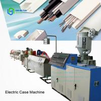 Buy cheap Sinohs  CE ISO Has Video! Promotion! SJZ-65/132 PVC Electrical Trunking Making Machine from wholesalers