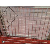 Buy cheap 3.0 mm Flat Surface Powder Coated Wire Mesh Panels , Galvanized Welded Fence Panels For Construction from wholesalers