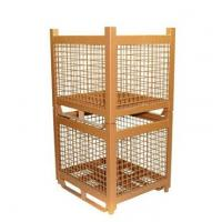 Buy cheap Retail General Collapsible Storage Wire Mesh Steel Bin from wholesalers