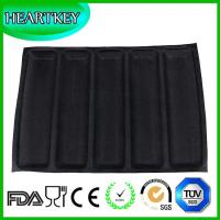 Buy cheap Silicone Non Stick Baking Liners Mat Bread Mold Subway Bread Mould 5 Loaf Bread from wholesalers