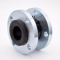 Buy cheap NBR rubber flexible joints with galvanized flange DIN ANSI BS JIS from wholesalers