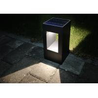 Buy cheap 300mm Ip65 Solar Pillar Light 50000h Working Lifetime 110~240v Accurate Optical Control from wholesalers