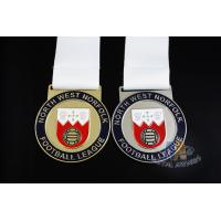 Buy cheap Novelty Custom Baseball Medals , Kids Sports Medals Gold Silver / Copper Plating from wholesalers