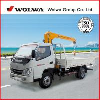 Buy cheap 3 ton lorry mounted crane from wholesalers