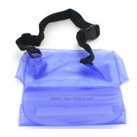 Buy cheap Purple Clear Waterproof Dry Bags Fashion Design 0.3 - 0.5mm Material Thickness from wholesalers