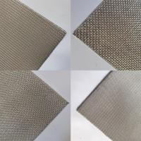 Buy cheap Customized Sintered Wire Mesh Filter Disc Diamond Hole 1-10mm Thickness from wholesalers