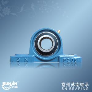 China High Precision Cast Iron Pillow Block Bearing UCP206 , Textile Bearing on sale