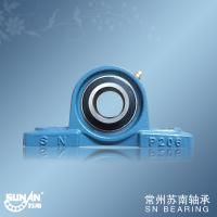 China High Precision Cast Iron Pillow Block Bearing UCP206 , Textile Bearing on sale