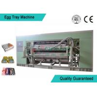 Buy cheap Fully Auto Molded Plastic Tray Making Machine For Egg Tray / Egg Carton / Seeding Cup Production Line from wholesalers