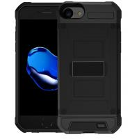 Buy cheap 3000mAh 4200mAh Back Clip Battery Wireless Charging Power Bank Case For iphone 8 Mobile Phone Holder from wholesalers