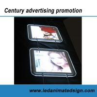 Buy cheap Double side crystal light box from wholesalers
