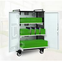 Buy cheap Innovative Moveable Tablet and Laptop Computer Charging Station Sheetmetal Tablet sync Timer Charging Cart/Charging from wholesalers