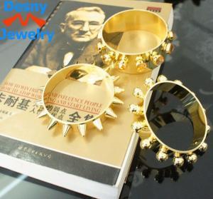 Fashion design gold bracelet for men,men design gold watch metal casting jewelry Manufactures