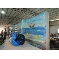 Buy cheap Digital Paintingbounce House Indoor Playground , Undersea World Blow Up Playhouse from wholesalers