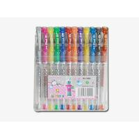 China Gle ink pen in plastic pp box packed, metallic colors on sale