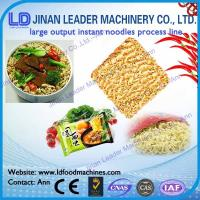 Fried instant noodles production line food processing equipment industry Manufactures