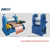 Buy cheap Blue Sandwich Panel Roll Forming Machine Decorative Metal Exterior Wall Roll Former from wholesalers