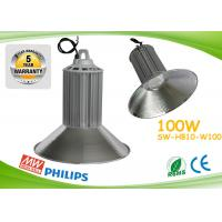 Buy cheap PF0.98 100w Led High Bay Lights CE ROHS Aluminum Heat Sink With Copper Pipe from wholesalers